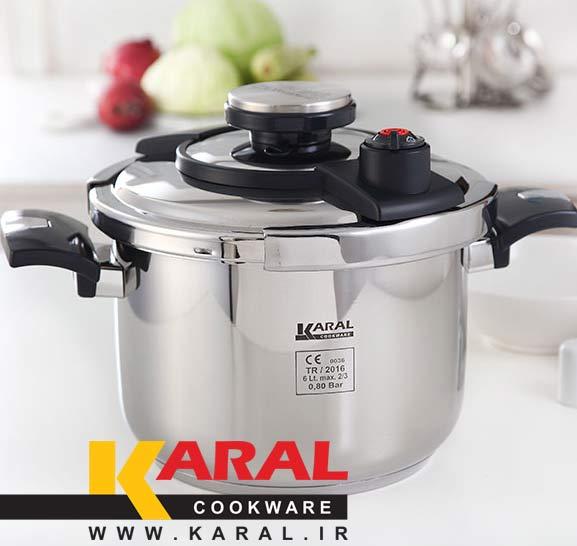 Karal stainless steel pressure cooker