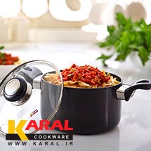 Karal hard anodized pots