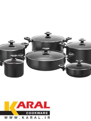 12 pieces Karal Hard Anodized Cookware Set (Repal model)