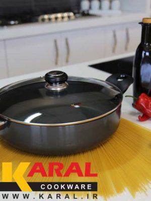 Karal hard anodized pan size 28