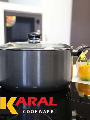Karal hard anodized pot size 28