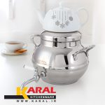 Karal stainless steel kettle and teapot set