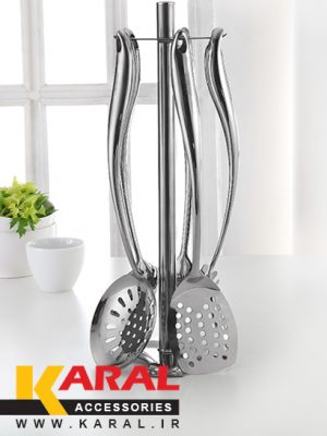 Karal Dornika 6 Pieces Ladle And Skimmer Set