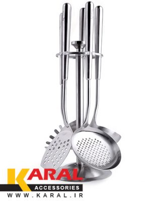 Karal Victoria 6 Pieces Ladle And Skimmer Set