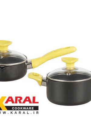 4 pieces Karal Hard Anodized Cookware Set (BENTA model)