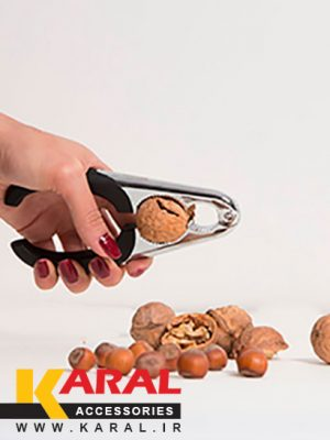 karal diamond stainless steel nut cracker