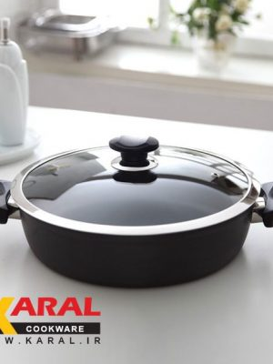 8/5 pieces Karal Super Hard Anodized Cookware Set (LARMA model)