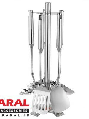 Karal ARNIKA 6 Pieces Ladle And Skimmer Set