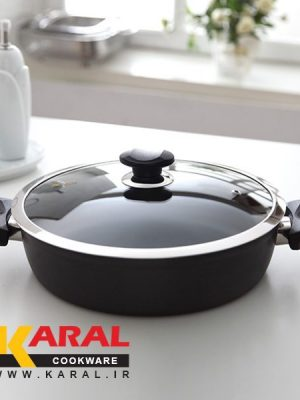 Karal Super Hard Anodized Larma Model Pan size 28