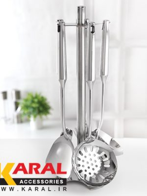 Karal ARNIKA 6 Pieces Ladle And Skimmer Set