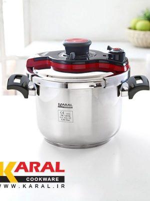 Karal DELIGHT stainless steel Super Safe pressure cooker