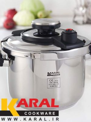 Karal DECENT stainless steel Super Safe pressure cooker