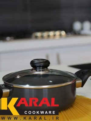 Karal Hard Anodized Pan Size 18