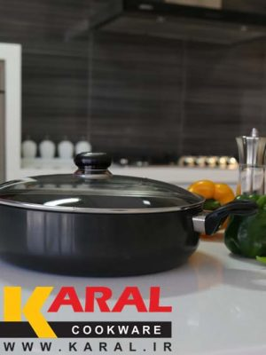 Karal Hard Anodized Pan Size 24