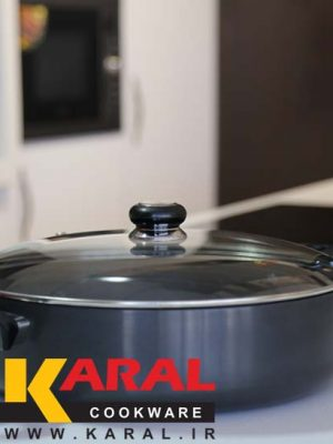Karal Hard Anodized Pan Size 34