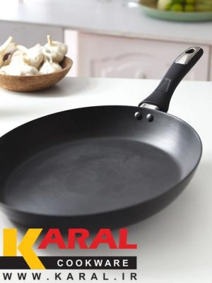 Karal Hard Anodized Frying Pan size 30