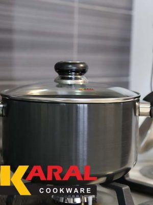 Karal Hard Anodized Pot Size 18