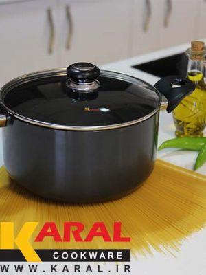 Karal hard anodized pot size 20