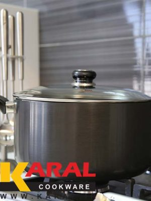 Karal Hard Anodized Pot Size 24