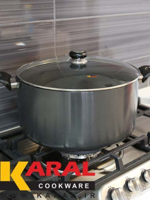 Karal Hard Anodized Pot Size 34