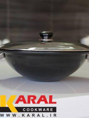 Karal Hard Anodized Wok Size 34